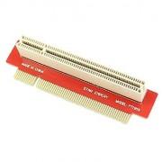 HD PCI Male to Female 32Bit Riser Extension Card Adapter 1U 2U 3U IPC Chassis 90 Degree Right Angled Type