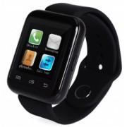 Smartwatch iUni U900i Plus Bluetooth LCD 1.44 Inch Negru Bonus Bratara Roca Vulcanica unisex