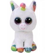 Jucarie plus 15 cm Beanie Boos PIXY - white unicorn TY