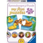 PUZZLE ANIMALE ADORABILE 9x2 PIESE Ravensburger