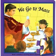 We Go to Mass (Puzzle Book): St. Joseph Puzzle Book: Book Contains 5 Exciting Jigsaw Puzzles, Hardcover/Jude Winkler