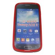 Силиконов гръб ТПУ за Samsung S7272 Galaxy Ace 3 Червен
