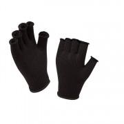Sealskinz Merino Fingerless Glove Liner Black