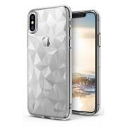 Husa Protectie Spate Ringke Prism Clear pentru Apple iPhone X
