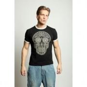 Epatage Мужская футболка с принтом черного цвета Epatag RT010571m-EP