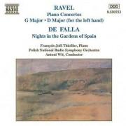Ravel/ De Falla - Piano Concertos/ Nights In (0730099575324) (1 CD)