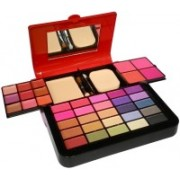 ADS ADS-25Eyeshadow::4Blusher::1CompactPowder::9LipColor::1Puff::1Mirror::Makeupkit