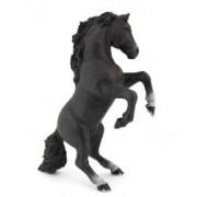 Figurina Papo - Cal negru cabrat