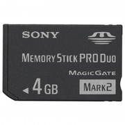 Sony Memory Stick PRO Duo Mark 2 MSMT4GN - 4GB