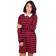 Vans Stripe Polo Dress : port royale - Size: Small