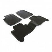 Set covorase profesionale cauciuc culoare negru stil tavita dedicate TOYOTA LAND CRUISER 120 2002-2009