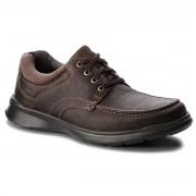 Обувки CLARKS - Cotrell Edge 261198037 Brown Oily