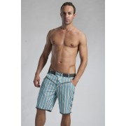 Geronimo Shorts Swimwear Turquoise/Grey 1113P9