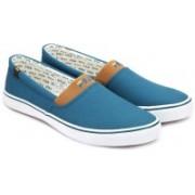 Fila Canvas Shoes For Men(Blue)