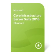 Core Infrastructure Server Suite 2016 Standard (2 cores) certificat electronic