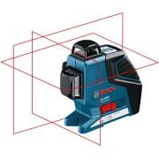 Линеен лазерен нивелир BOSCH GLL 3-80 P Professional, до 40-80м