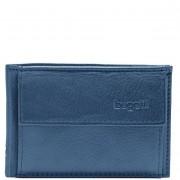 Bugatti Sempre Geldbörse Leder 10 cm blau