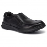 Обувки CLARKS - Cotrell Free 261373867 Blk Smooth Leather