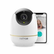 netvue Home Security Camera,Compatible with Alexa Echo show 360 degree View,Netvue Wire