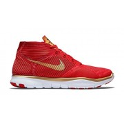 Nike Free Train Instinct Hart Trainer Shoes (7. 5 D(M) US, Total Crimson/Sport Red-Black-Metallic Gold)