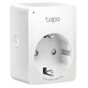Priza Wi-Fi inteligenta TP-LINK Tapo P100, Schuko, compatibila Google Assistant si Amazon Alexa, programabila (Alb)