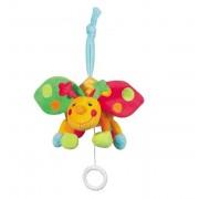 Jucarie muzicala Buburuza Brevi Soft Toys