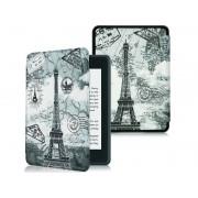 Etui Alogy Smart Case Kindle Paperwhite 4 Wieża Eiffla + Szkło