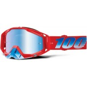 100% Racecraft Extra Kuriakin Motocross Goggles Red Blue One Size