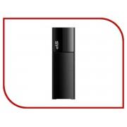 USB Flash Drive 16Gb - Silicon Power Ultima U05 USB 2.0 Black SP016GBUF2U05V1K