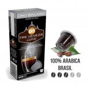 Caffè Tre Venezie 10 Capsule Oro Sinuoso Compatibili Nespresso -
