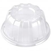 Tapa Alta de Plastico Transparente 11x6cm (1000 Uds)