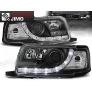 Přední světla, lampy Audi 80 B4 Day light Černá