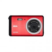 Digital Camera 12 MP with 3.0 Inch TFT LCD Display, Vmotal Students cameras - Students Camcorder - Handheld Sized Digital Camcorder (Red)