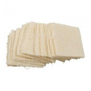 "Brownells 100 Paks 100% Cotton Flannel Cleaning Patches - 1-3/8"""" Square, .22-.270 Cal*"