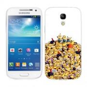 Husa Samsung Galaxy S4 Mini i9190 i9195 Silicon Gel Tpu Model 100 Minions