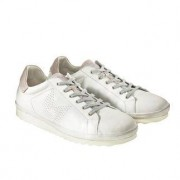 COM California Leather Sneakers, 7.5 - Offwhite