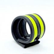 665 Inc. Neoprene Racer Ball Strap Neon Green 19040M