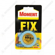 Moment Fix Banda dublu adeziva, puternica, 19 mm