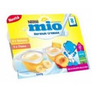 Nestle' It.Spa(Infant Nutrit.) Mio Merenda Cremosa Banana + Pesca 6 X 60 G