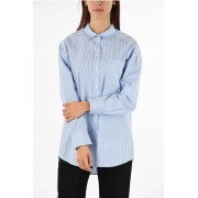 Tommy Hilfiger COLLECTION Camicia a Righe Oversize taglia 4