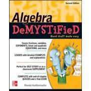 Algebra Demystified, Paperback