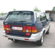 ATTELAGE SSANGYONG MUSSO 1995-1996 - RDSO Demontable sans outil - BOSAL
