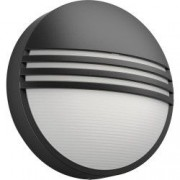 Aplica LED integrat pentru exterior Philips Yarrow 1x6W 600 lm lumina calda Antracit