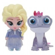 Set Giochi Preziosi 2 Mini Figurine Elsa si Cameleon Whisper and Glow Frozen 2