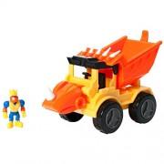 """Educational Insights Dino Construction Company Play Sets -""""Rocko"""" Styracosaurus Dump Truck"""