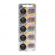 Maxell 5 Piles CR2016 Maxell Bouton Lithium 3V