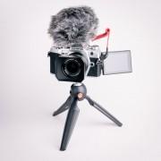 Olympus OM-D E-M5 Mark III Silver Vlogg-kit