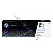Тонер HP 201X за M252/M274/M277, Black (2.8K), p/n CF400X - Оригинален HP консуматив - тонер касета
