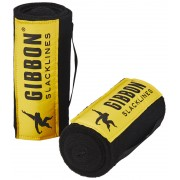 GIBBON Tree Wear slackline Set XL geel/zwart 2018 Slackline Sets