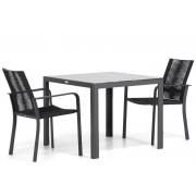 Santika Furniture Santika Annisa/Mondello 90 cm dining tuinset 3-delig